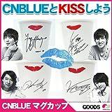 【韓国版●公式Goods】CNBLUE Kiss マグカップ(Mug Cup)4点セット 陶磁器マグカップ(イ・ジョンヒョン カン・ミンヒョク イ・ジョンシン ジョン・ヨンファ) キス 海外販売限定商品
