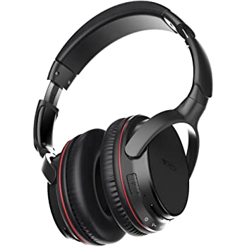 TROND Bluetooth ヘッドホン V4.2 ワイヤレス ヘッドフォン 密閉型 オーバーイヤー ヘッドセット aptX Low Latency対応 高音質 重低音モデル 最大30時間再生 コーデックインジケーター付 マイク内蔵 ケース付