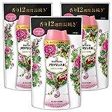 【まとめ買い】 レノア ハピネス 香り付け専用ビーズ アロマジュエル ざくろブーケの香り 詰め替え 455mL×3個