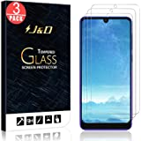 J&D Compatible for 3-Pack Alcatel 3 2019/Alcatel 3L 2019 Glass Screen Protector, [Tempered Glass] [Not Full Coverage] Glass S