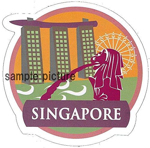 ドレスアップステッカー シンガポール 海外旅行シール スーツ...
