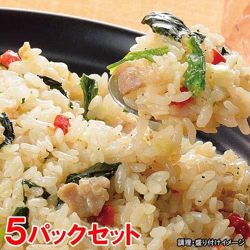 味の素 業務用 ねぎ塩豚カルビ炒飯 5パックセット (チャーハン)(冷凍食品