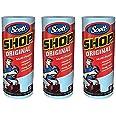 Scott (スコット) SHOP TOWELS / ショップタオル ブルーロール 55枚 3ロールセット