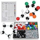 分子モデルキット 分子構造模型 化学分子モデル 有機と無機化学 組み立て式 原子 元素 分子構造 モデル 理解しやすい 実験 理科 教学用
