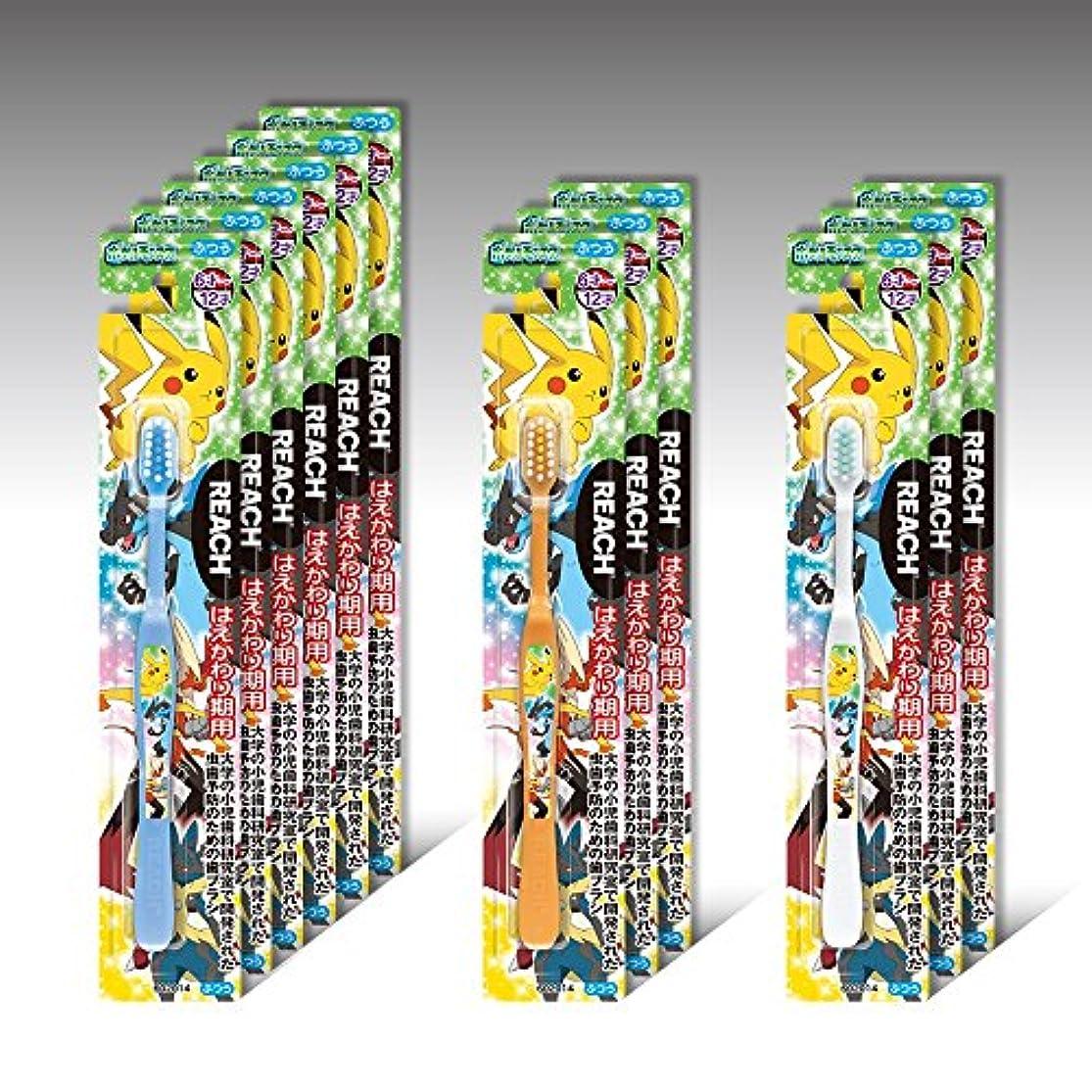 トロリー協力残酷リーチキッズ ポケットモンスター はえかわり期用(6~12才) 12本セット