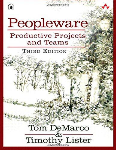 Download Peopleware: Productive Projects and Teams (3rd Edition) 0321934113