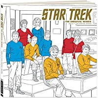 STAR TREK : THE ORIGINALシリーズ大人用カラーリングブックwith 45 Illustrations