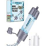 OHKEY 携帯浄水器 浄水器 濾過器 アウトドア 災害 検査済日本仕様