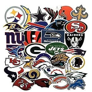 NFL アメリカンフットボール アメフト チームロゴ[防水加工]ステッカー / 30枚セット