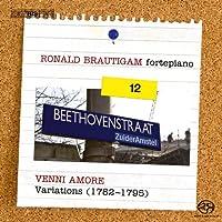 ベートーヴェン:ピアノ独奏曲全集 Vol.12 (Beethoven : Venni Amore - Variations (1782-1795) / Ronald Brautigam - fortepiano) [SACD Hybrid] [輸入盤]