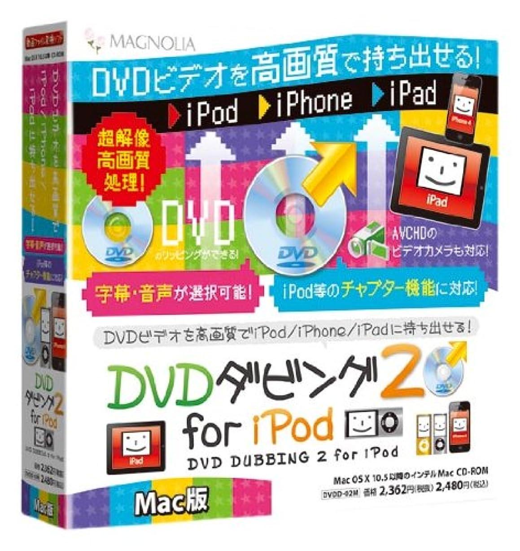 軽減ぴったり仮説マグノリア DVDダビング2 for iPod Mac版