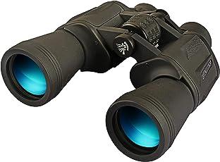 双眼鏡 望遠鏡 オペラグラス 10X50(120M/1000M) 高解像度 高透過率 風景観察/野鳥観察/野球観戦/スポーツ観戦などに活用 収納ケース&ストラップ&拭き布付き (10X50)