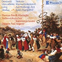 Sinfonia / Cl.con / Holbergs / Champetre: Friedli / Angerer /