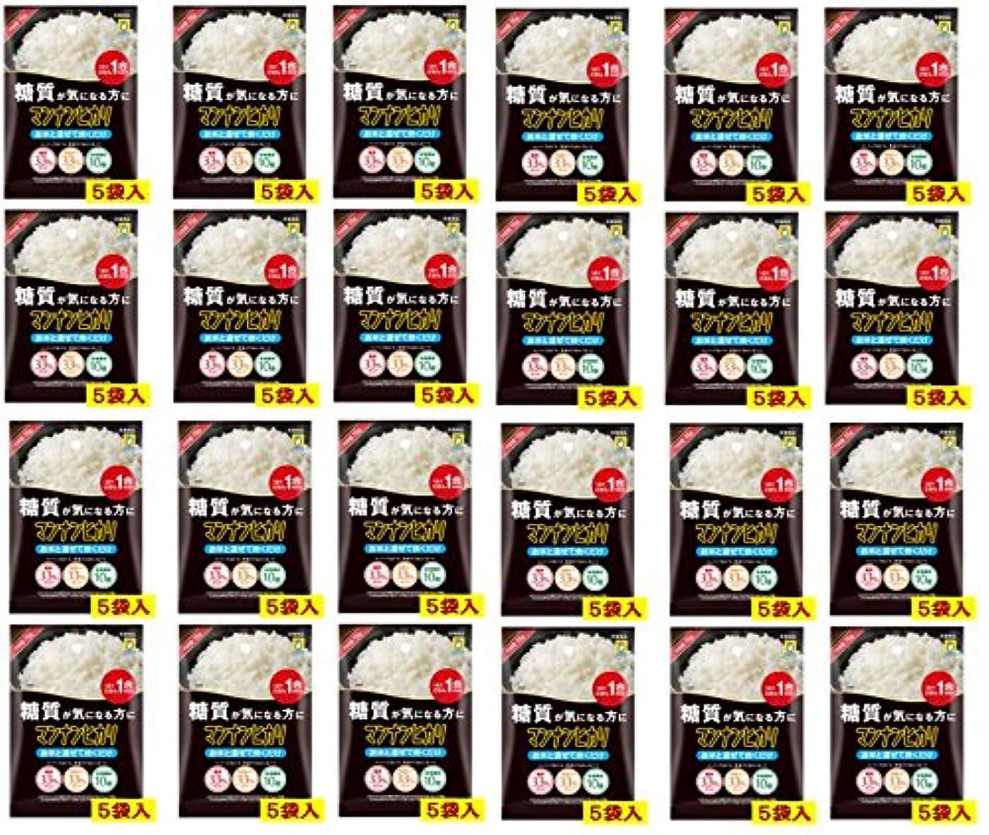 壮大な不快鮫マンナンヒカリ 穴開きタイプ(75g×5袋) X24個セット