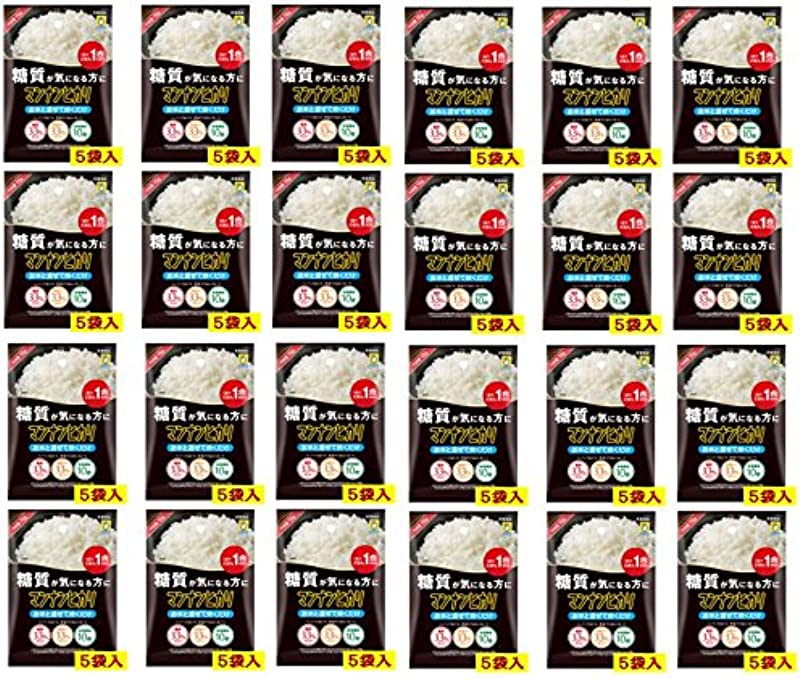 句読点マーキー発掘するマンナンヒカリ 穴開きタイプ(75g×5袋) X24個セット