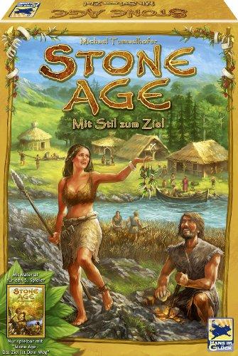 """ストーンエイジ拡張セット 文明への第一歩 (Stone Age: The Expansion) Erweiterung: Nur spielbar mit """"Stone Age - Das Ziel ist Dein Weg"""" ボードゲーム"""