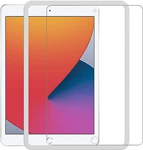 【ガイド枠付き】Nimaso iPad 10.2 ガラスフィルム iPad 8世代 / 7世代 強化 ガラス 保護 フイルム