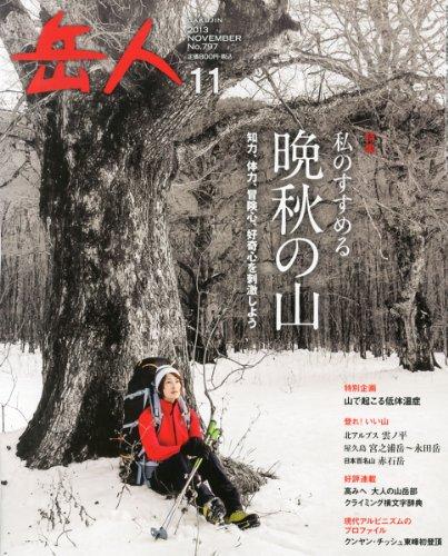 岳人 2013年 11月号 [雑誌]