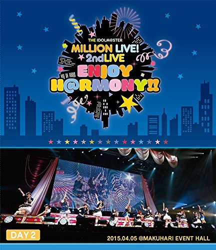 THE IDOLM@STER MILLION LIVE! 2ndLIVE ENJOY H@RMONY!! LIVE Blu-ray DAY2-