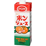 えひめ飲料 POM ポンジュース スクエア 1L×6本×3ケース(18本)