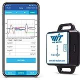 [Bluetooth加速度計+傾斜計] BWT901CL MPU9250高精度9軸ジャイロスコープ+角度(XY0.05°精度)+カルマンフィルター付き磁力計、Arduino用200Hz高安定3軸IMUセンサー