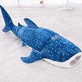 クジラ 抱き枕 動物 ぬいぐるみ クッション おもちゃ クジラぬいぐるみ プレゼント 子供部屋 子供へのギフト 撮影小物 パーティー 飾り ブルー 100 おもしろい 抱き枕 ソファー 部屋 車 カフェ イエロー プレゼント かわいい お祝い
