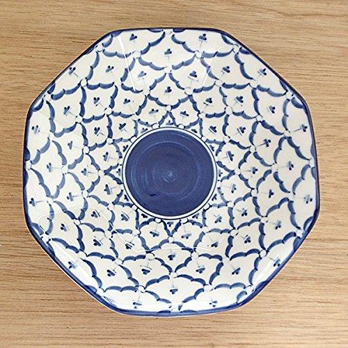 皿 八角シューマイ皿 チェンマイ 中華食器 業務用