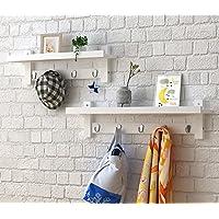 浮遊式棚 木製の壁掛け掛け掛け吊り吊り梁、壁掛けの掛け布団の掛け布団 工業用壁フレーム (色 : B)
