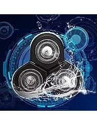 シェーバー 替刃 シェーバー ヘッド 3頭のヘッド 替刃3個入り 交換ヘッド 丈夫で安全なカッターヘッド 用 フィリップスカミソリRQ11 RQ12 1250X 1260X 1255X 1280X 1290Xの型番に適応