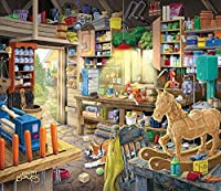 Pap Pap's Tool Shed a 550-Piece Jigsaw Puzzle by Sunsout Inc. by SunsOut