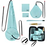 Imelod Saxophone Cleaning kit with Case for Alto Tenor Clarinet Flute and other Wind & Woodwind Struments Including Sax Clean