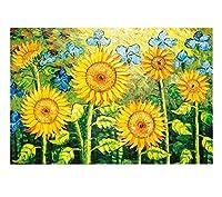 美しい春の風景木製のジグソーパズル教育玩具1000個