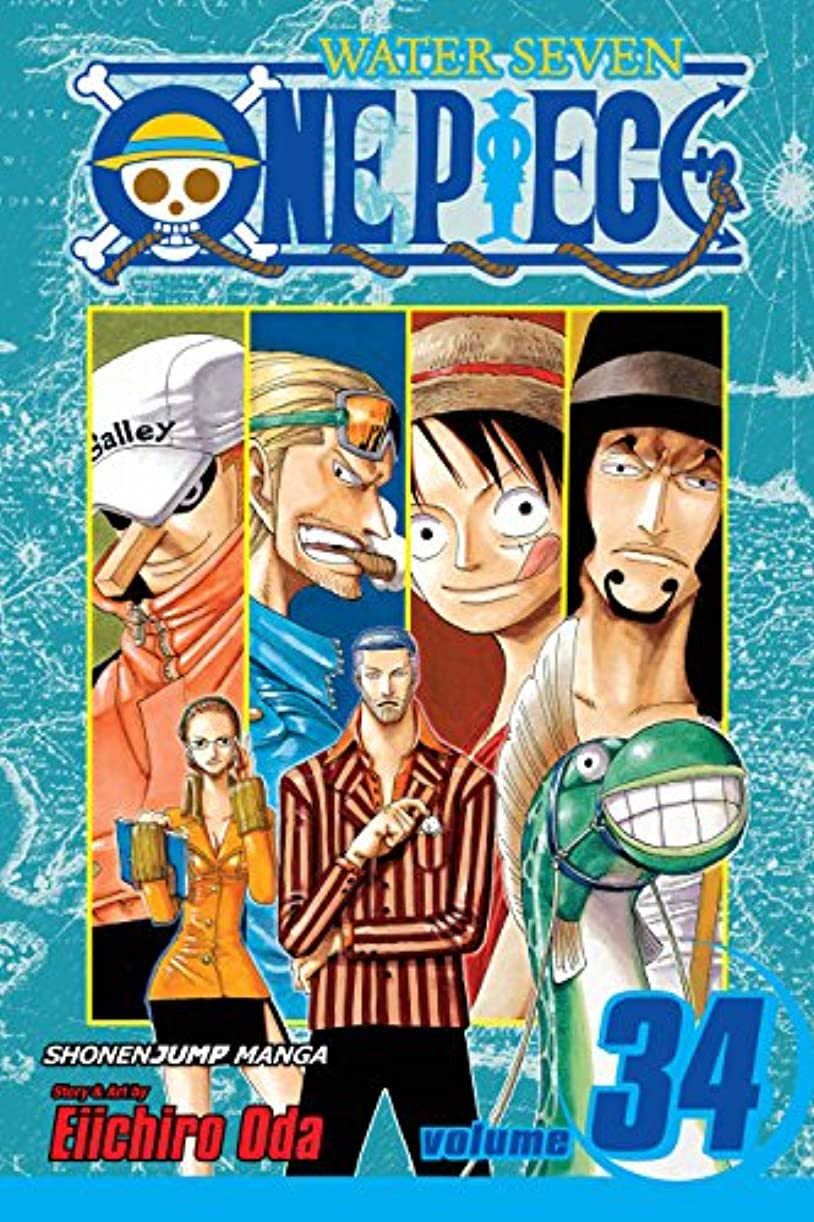 One Piece, Vol. 34: The City of Water, Water Seven (One Piece Graphic Novel) (English Edition)