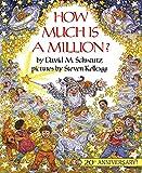 洋書絵本読み聞かせ「HOW MUCH IS A MILLION?」