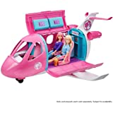 Barbie GDG76 Dreamplane Transforming Playset with Reclining Seats and Working Overhead Compartments, 15 plus Pieces Including