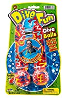 Dive Balls、Catch ' em as theyシンク。Water Toy for Kids。スーパー練習でも楽しい。GREATパーティーFavor。882 Pack of 1