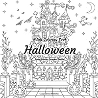 Adult Coloring Book - Halloween - Stress Relieving Patterns & Designs