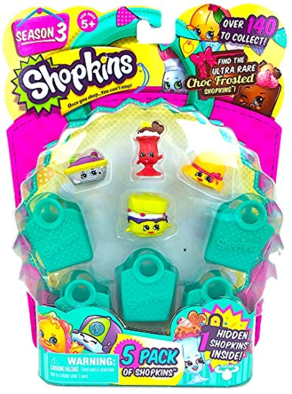 Shopkins Season 3 ( 5パック)セット7