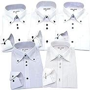 BS-shirt(ビジネスマンサポートシャツ) 長袖ワイシャツ5枚セット 豊富なサイズ