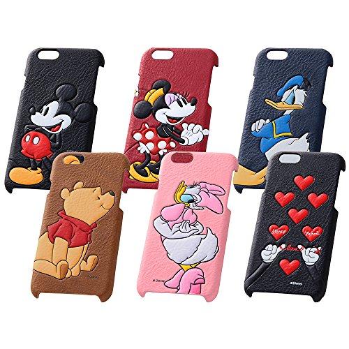 レイ・アウト iPhone6 (4.7インチ)用 ディズニー・ポップアップ・レザージャケット(合皮) ミニーマウス RT-DP7C/MN