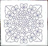 刺し子 紫陽花(あじさい)