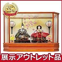 雛人形 コンパクト ケース飾り 【アウトレット特価】2019out-hina15