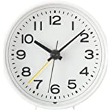 無印良品 アナログ目覚まし時計 型番:MJ‐AC1 82114300