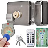 Tangxi Electronic Door Lock, DC 12V Electronic Access Intelligent Door Lock with Remote Control System+ID Double Head+4 Modes