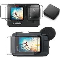 【ActyGo】 GoPro hero10/hero9用 液晶保護フィルム メディアモジュラー使用可 3か所×2枚