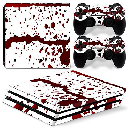 Gam3Gear Vinyl Decal Protective Skin Cover Sticker for PS4 Pro Console & Controller - Blood [並行輸入品]