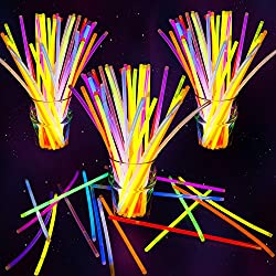 蛍光ブレスレット 10色50本 光る サイリウム ケミカルライト ジョイント付 コンサート イベント