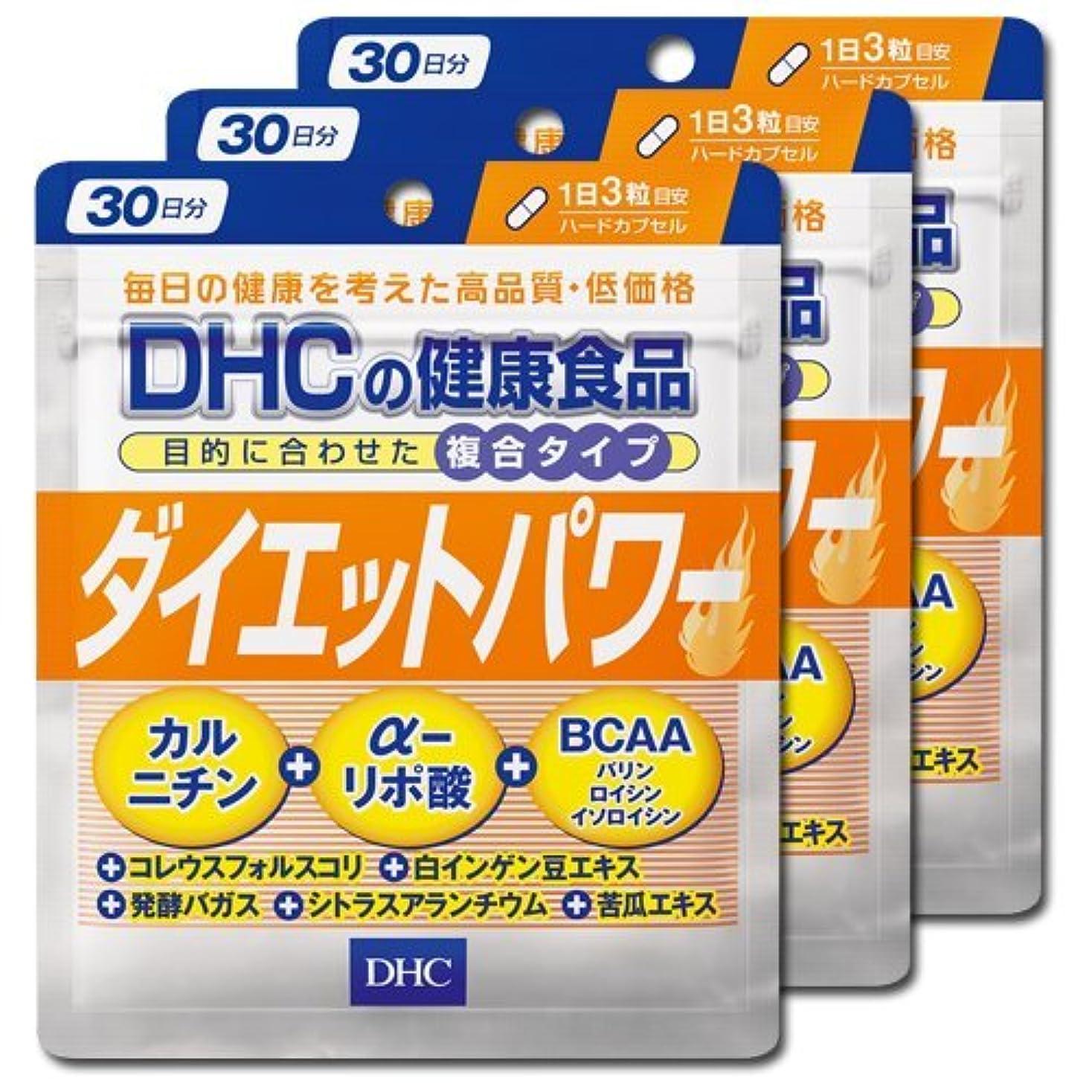 たまにストレスの多いポーターDHC ダイエットパワー (約30日分)×3セット