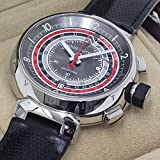 [ルイヴィトン]LOUIS VUITTON メンズ腕時計 メンズ腕時計 タンブール クロノグラフ ヴォワイヤージュ グレー2 Q102C 888本限定モデル 中古