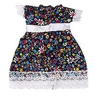 SONONIA 18インチ ドール人形 花の柄 パーティー 優雅 DIYドレス 洋装 多彩 贈り物